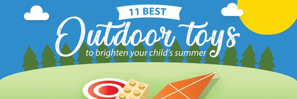 11 Best Outdoor Toys To Brighten Your Child's Summer
