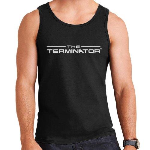 The Terminator Title Font Logo Text Men's Vest