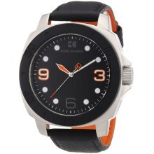 BOSS ORANGE Black Leather Mens Watch 1512669