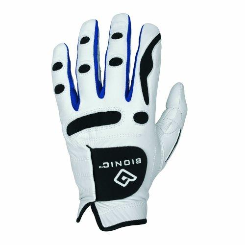 Bionic Men's PerformanceGrip Left Hand (Right Handed Golfer) Golf Glove - White, Large