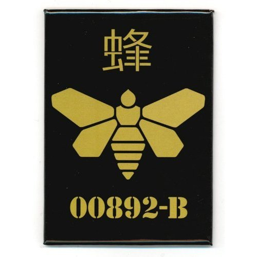 Breaking Bad Gold Moth Logo Magnet