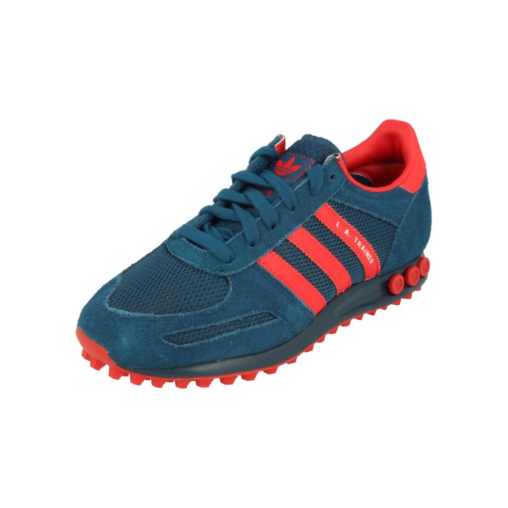 design intemporel deccd a89b4 Adidas Originals La Trainer Mens Running Trainers Sneakers