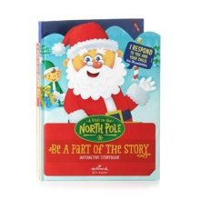 Hallmark Interactive Storybook A Visit to the North Pole XKT1070
