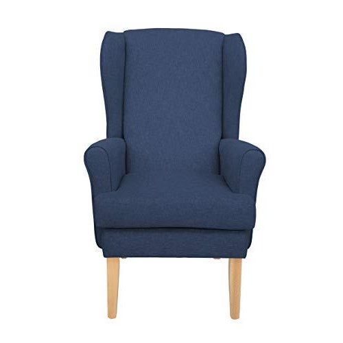 MAWCARE Highland Orthopaedic High Seat Chair - 21 x 18 Inches [Height x Width] in High Navy (lc21-Highland_h)
