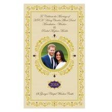 Royal Wedding Tea Towel 19 May 2018 Prince Harry Meghan Markle Souvenir Gift Cotton