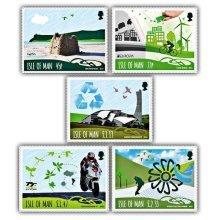 Biosphere Isle of Man Think Green Set (CTO)