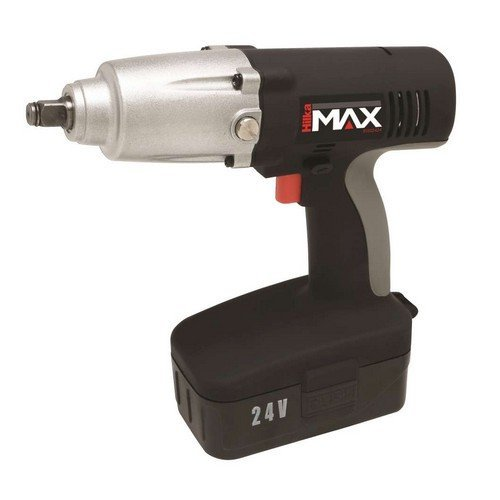 "Hilka 91502424 Cordless Impact Wrench 1/2"" Square Drive 24 Volt"