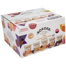 Border Biscuits 100 Luxury Mini Packs (5 Varieties)