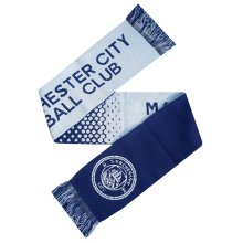 Manchester City Football Club Fade Knitted Supporters Scarf - Official -  manchester city scarf football fade official knitted club