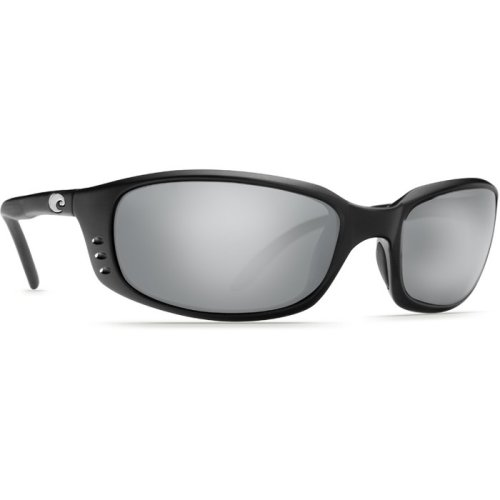 Costa Del Mar Brine Polarized Matte Black Unisex Sunglasses BR-11-OSCP