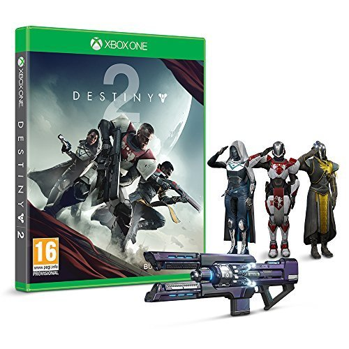 Destiny 2 with Salute Emote (Exclusive to Amazon) (Xbox One)