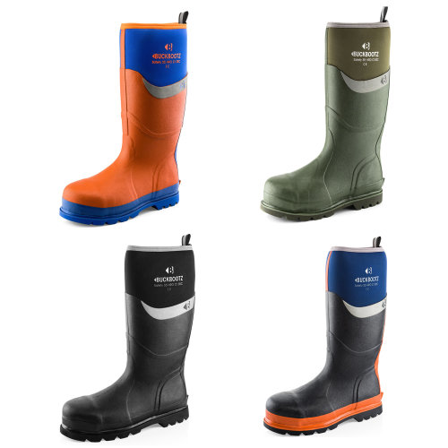 Buckler Waterproof Safety Wellington Boots