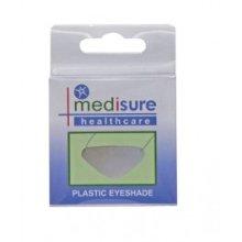 Medisure Plastic Eyeshade - White Pvc Protective Eyepatch -  medisure eyeshade plastic white pvc protective eyepatch
