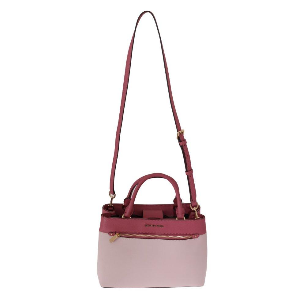 d0ee2da82380 ... Michael Kors Handbags Pink HAILEE Leather Tote Bag - 1 ...