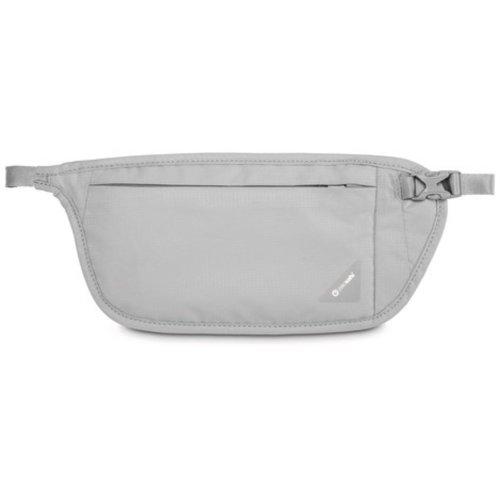 Pacsafe Coversafe V100 RFID Blocking Waist Wallet (Neutral Grey)