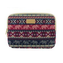 Laptop Carrying Bag Twin Sides Patterns Waterproof Case