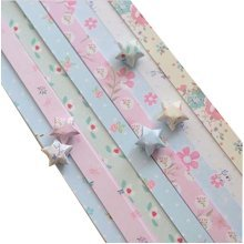 370 Sheets Origami Lucky Star Paper Craft Paper Flowers Pattern