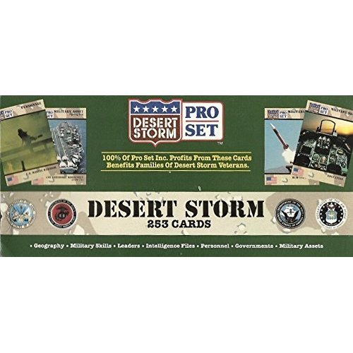 Desert Storm 4th of July Salute Limited Edition Factory Set (Pro Set)