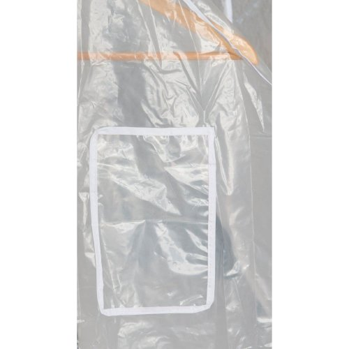 New Transparent Clear Protection Hanging Garment Coat Clothes Hanger Rail Cover[4ft - 5ft]