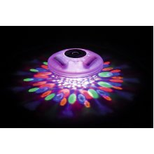 GLOW Flowclear Lay-Z-Spa Hot Tub & Swimming Pool LED Floating Light – Beautiful and Bright Colour Changing Battery Operated Water Light with 4 Colours and 7 Flashing Modes – Simple to Use - No Wiring Required - IP68 100% Waterpoof – 1hr Auto Safety S