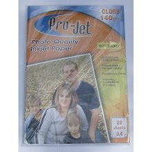 Projet A4 140gsm Sticky Back Gloss Photo Paper (Self Adhesive Back)