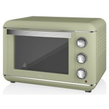 Swan Products Retro Electric Oven 23 Litre - Green (SF37010GN)