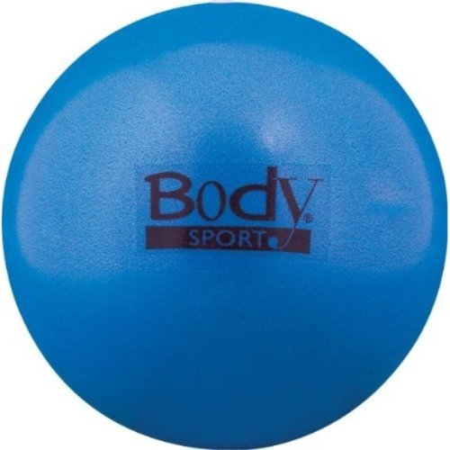 BodySport FusionBall 7.5 - 10 Mini Fitness Ball - Use for pilates. Inflates with included straw. Ideal for isometrics, Core work. No pump necessary!