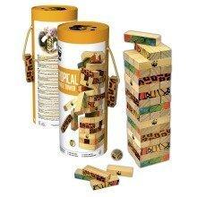 Tropical Tumble Tower Game - WWF