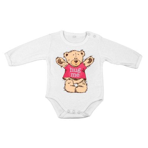 Baby Long hug me teddy bear shirt