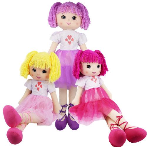 Super Size Ballerina Rag Doll