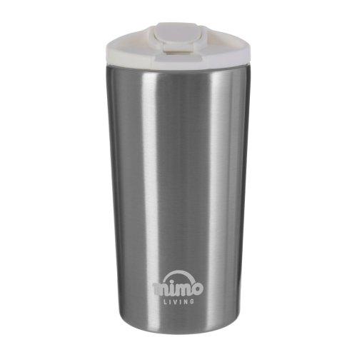 Mimo Double Walled Mug, Grey