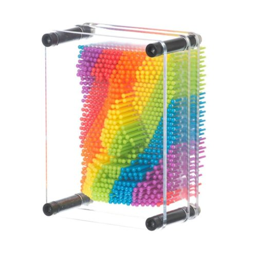 Rainbow Pin Art