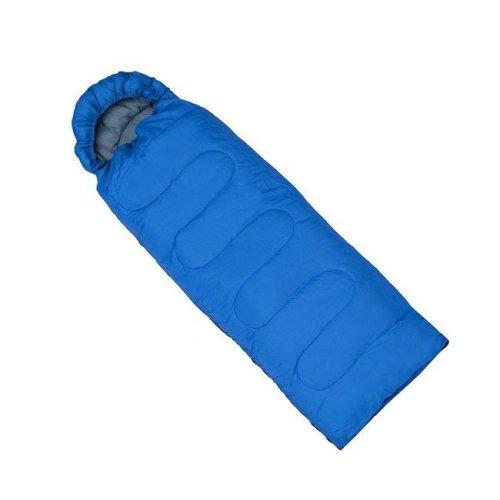 Aleko SB6BL-UNB Four-Season Insulation Sleeping Bag, Blue