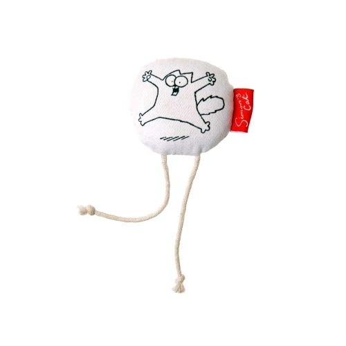 Karlie Simon's Cat 48173 Cat Toy, White,Round, 6 cm