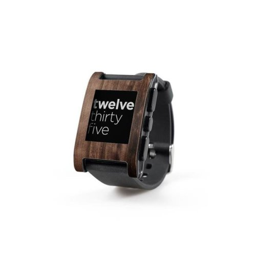 DecalGirl PWCH-STAWOOD Pebble Watch Skin - Stained Wood