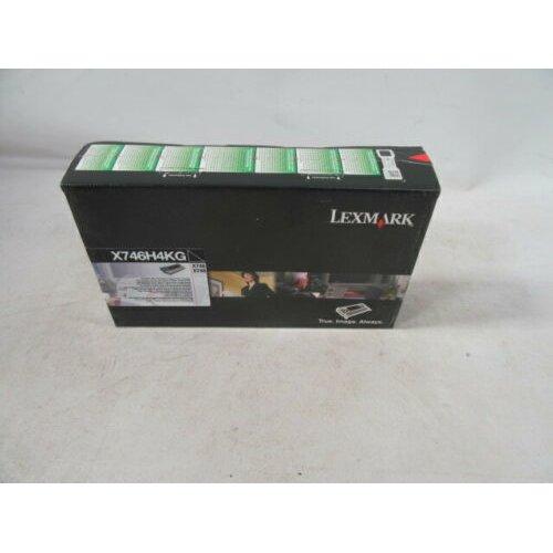 NEW LEXMARK X746H4KG X748 TONER BLACK
