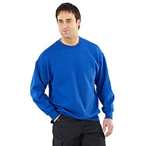 Click CLPCSRL Sweatshirt Fleece Lined Royal Blue Large