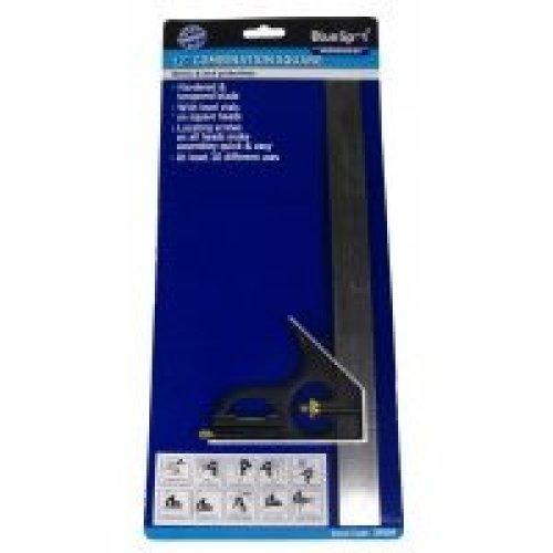 "12"" Combination Square Light Duty - 12in 300mm Bluespot Tools Bs33924 -  square combination 12in 300mm bluespot tools bs33924"