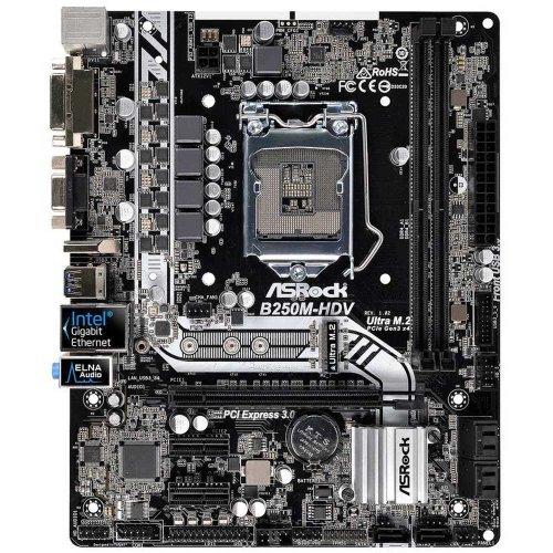 ASRock B250M-HDV LGA1151 DDR4 Ultra M.2 mATX