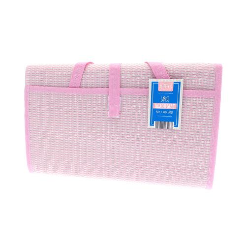Country Club Large Beach Mat, Pink 150cm x 180cm