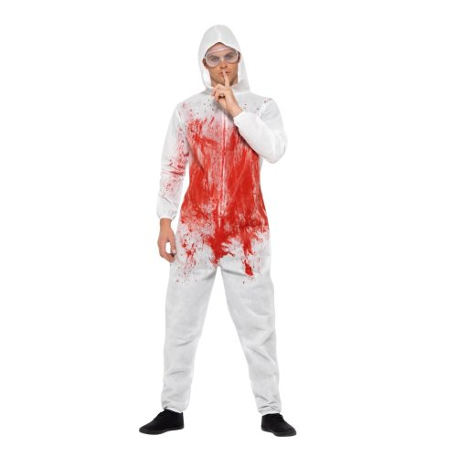 Bloody Forensic Overall Jumpsuit Costume
