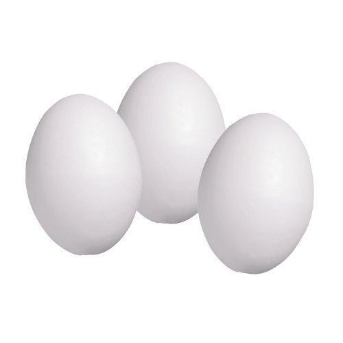 Playbox - Foam Eggs 10pcs 6x4cm - 6 4cm 10 Pieces -  playbox 6 4cm foam eggs 10 pieces