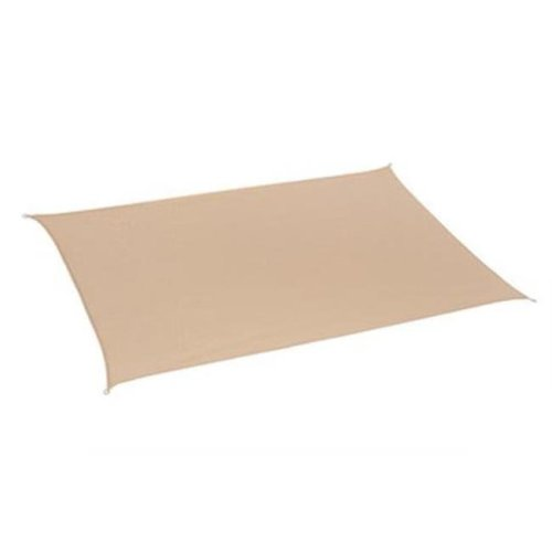 Gale Pacific 480943 California Sun Shade Rectangle 10 x 8 ft., Desert Sand