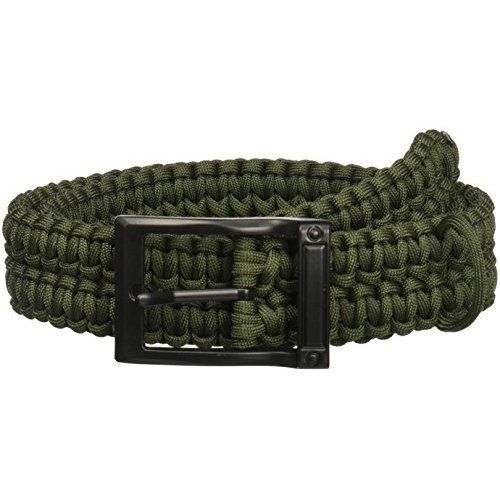 TIMBERLINE Paracord Survival Belt Olive Small