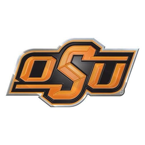 Pro Mark CE3U051 4 x 3 in. Oklahoma State Color Emblem 3