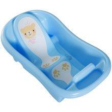 HOMCOM Baby Bath Tub, 88Lx49Wx28H cm-Blue