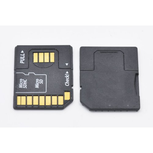 3X Micro SD SDHC TF to SD USB Flash Memory Disk Card Adaptor Reader
