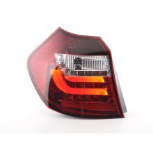 Led Taillights BMW serie 1 E87/E81 3/5-Dr. Year 07-11 clear/red