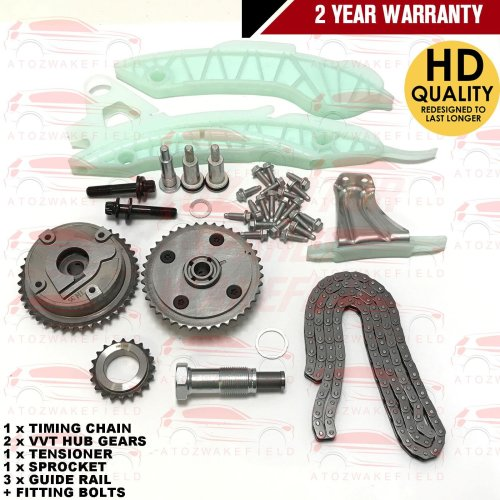 FOR BMW 116i F20 VVT GEARS TIMING CHAIN TENSIONER GUIDE RAIL GASKET KIT N13B16A