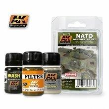 Ak00073 - Ak Interactive Set Nato Weathering Set